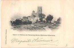 FR66 VERNET LES BAINS - Py Oliver - Précurseur - église Et Château - Belle - Autres Communes