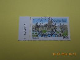 FRANCE 2014   YTN° 4848   RELATIONS AVEC LA CHINE  France- Chine   TN Oblitéré  Numéroté - Used Stamps