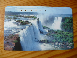 Phonecard Japan 331-458 Waterfall - Japan