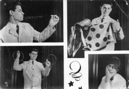 D-19-515 : LEGAVE FRANCOIS LINO WEGALEFF VENTRILOQUE  JACK ROSSIGNOL. PRESTIDIGITATION MAGIE ILLUSIONNISTE - Cabaret
