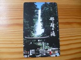Phonecard Japan 330-186 Waterfall - Japan