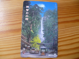 Phonecard Japan 331-380 Waterfall - Japan
