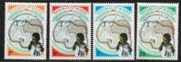 NIGERIA / BIAFRA - N°39/42 ** (1969) 2e Anniversaire De L'indépendance - Nigeria (1961-...)