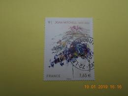 FRANCE 2014   YTN° 4849  JOAN MITCHELL (1925-1992)   TN Oblitéré - France