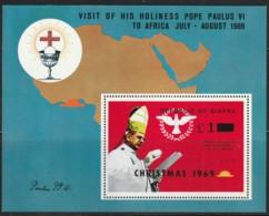 NIGERIA / BIAFRA - BLOC N° 3 **  (1969) Surcharge Christmas 1969 - Nigeria (1961-...)
