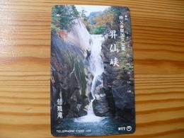 Phonecard Japan 251-028 Waterfall - Japan