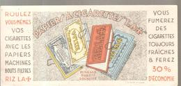 Buvard RIZLA LA CROIX Papiers à Cigarettes RIZLA+ - Tabac & Cigarettes
