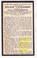 DP Felicie VanDamme ° Westrozebeke Staden 1879 † Passendale Zonnebeke 1933 X J. VanOverberghe - Images Religieuses