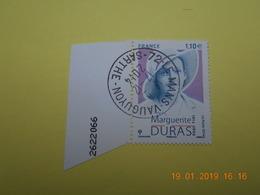 FRANCE 2014   YTN° 4850  MARGUERITE DURAS (1914-1996)  TN Oblitéré  Numerote - France