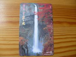 Phonecard Japan 251-348 Waterfall - Japan