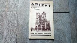 Guide Amiens Capitale De La Picardie Texte De Dubois Dessins De Ringard Publicités Commerces - Picardie - Nord-Pas-de-Calais