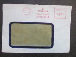 BRIEF Gottwaldov 1950 Exico Frankotype Postfreistempel // L3803 - Briefe U. Dokumente