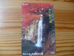 Phonecard Japan 330-143 Waterfall - Japan