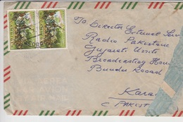 Mozambique Airmail Cover To Pakistan, Stamps    (A-1185) - Ghana (1957-...)