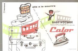 Buvard CALOR Elle A Le Sourire Avec BABY-VOYAGE CALOR - Textile & Clothing