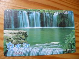 Phonecard Japan 271-004 Waterfall - Japan