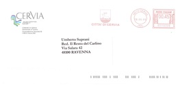 CITTA' DI CERVIA - Affrancature Meccaniche Rosse (EMA)