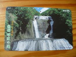 Phonecard Japan 251-334 Waterfall - Japan