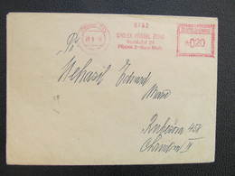 BRIEF Praha 015 Spolek Pratel Zehu 1958 Frankotype Postfreistempel // L3807 - Briefe U. Dokumente