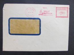 BRIEF Praha 015 Spolek Krematorium 1950 Frankotype Postfreistempel // L3808 - Briefe U. Dokumente