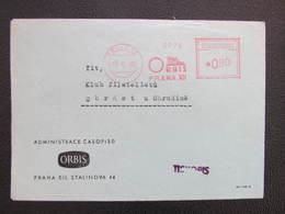 BRIEF Praha 12 Orbis 1950 Frankotype Postfreistempel // L3810 - Briefe U. Dokumente