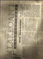 Journal Lakroan'i  Février 1959   Madagascar - Vieux Papiers