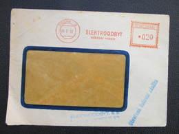 BRIEF Praha 3 Elektroodbyt 1957 Frankotype Postfreistempel // L3811 - Briefe U. Dokumente