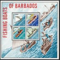 Barbados.    1974 Fishing Boats Of Barbados. MNH - Barbados (1966-...)