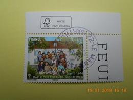 FRANCE 2014   YTN° 4852 RAFLE DES ENFANTS JUIFS A IZIEU  TN Oblitéré  Coin De Feuille - France