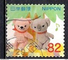 Japan 2017 - Greetings Stamps - Popless And Friends - 1989-... Emperador Akihito (Era Heisei)