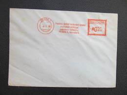 BRIEF Praha 1 Prazsky Obchod Tabak 1954 Frankotype Postfreistempel // L3815 - Briefe U. Dokumente