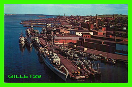 HALIFAX, NOVA SCOTIA -  THE HARBOUR AS SEEN FROM THE ANGUS L. MACDONALD BRIDGE - LEWIS & NUGENT LTD - - Halifax