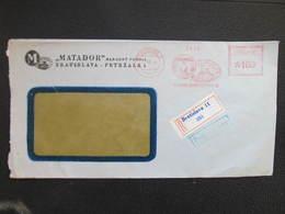 BRIEF Bratislava 1955 Matador Frankotype Postfreistempel // L3819 - Briefe U. Dokumente