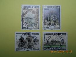 FRANCE 2014   YTN° 4853-4856  CAPITALES EUROPEENNES  Vienne (Autriche)   TN Oblitéré - France