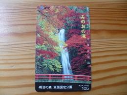 Phonecard Japan 331-205 Waterfall - Japan