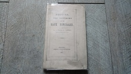 Provins Ses Environs Et Ses Eaux Minérales Par Le Docteur Naudot 1871 Rare - Ile-de-France