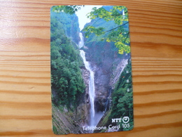 Phonecard Japan 310-032 Waterfall - Japan
