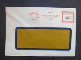 BRIEF Praha 022 Potravinoprojekt 1953 Rankotype Postfreistempel // L3831 - Briefe U. Dokumente