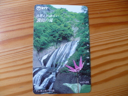 Phonecard Japan 250-250 Waterfall - Japan