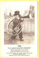 """Tematica - Manifestazioni - 1998 - 1948 """"Il Carnevale Del Freddo"""" - Mostra Fotografica E Documenti - Carpi - Not Used - Manifestazioni"""