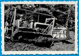 PHOTO Photographie Amateur -Terrassement Bulldozer Travaux Publics - Professions