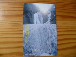 Phonecard Japan 250-515 Waterfall - Japan