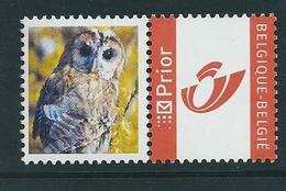 Duostamp  Neuf (**)   Avec N° 3274   Chouette   Bdf - 1985-.. Oiseaux (Buzin)