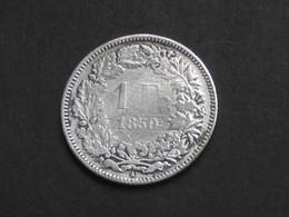 SUISSE  - 1 Franc 1850 A   - Argent-Silver   *** ACHAT IMMEDIAT *** - Suisse
