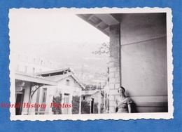 Photo Ancienne Snapshot - Gare De BEAULIEU / CAP FERRAT - Juillet 1937 - Beaulieu Sur Mer Alpes Maritimes - Trains