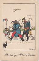 Illustrateur Bouziat Humour Guerre 14-18 (lot Pat 37) - Satirical