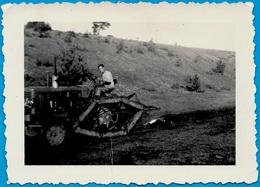 PHOTO Photographie Amateur - Agriculture - Curieux TRACTEUR à Chenilles - Professions