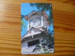 Phonecard Japan 431-009 Sapporo, Clock - Japan