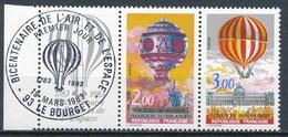 France - Bicentenaire De L'air Et L'espace YT 2262A Obl. 1er Jour - France