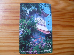 Phonecard Japan 430-234 Sapporo, Clock - Japan